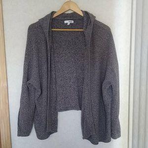 $5 BUNDLE Charcoal Knit Hoodie Sweater